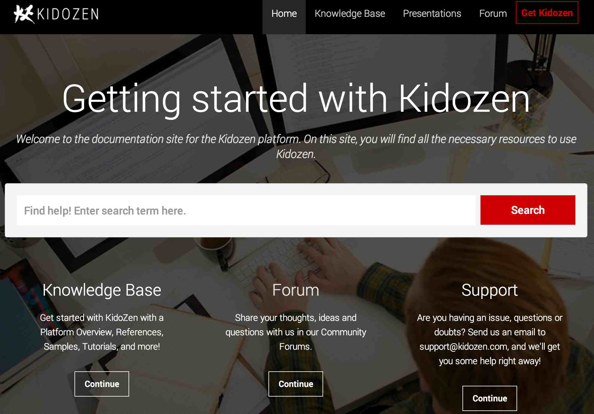 KidoZen Documentation
